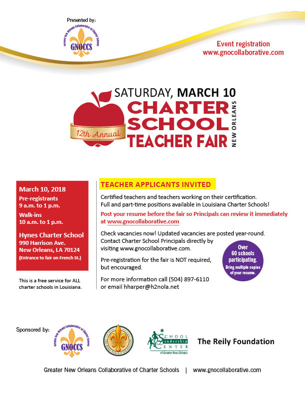 2018 Charter School Teacher Fair Is On March 10 The Brylski